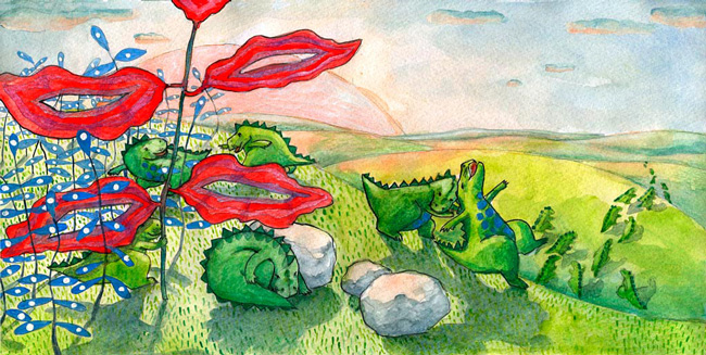 6. Dinozaurii-pitici