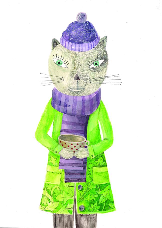 The cat 650X437
